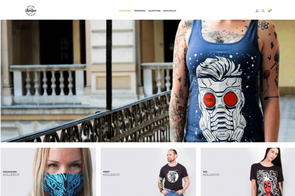 Creation Webshop